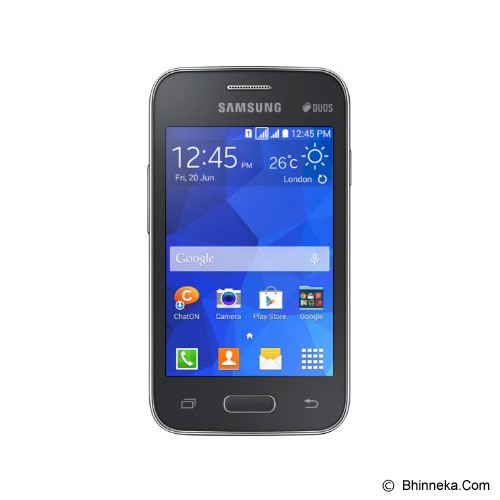 SAMSUNG Galaxy Young 2 [G130] - Charcoal - Smart Phone Android